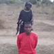 جندي طفل من داعش يُعدم طالبا مسيحيا نيجيريا، ويعلن لن نتوقف