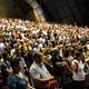 بالصور: احتفال تسبيح في مركز المؤتمرات الدولي في حيفا بحضور ضيوف من قناة الفادي