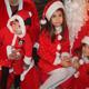 حضانة الوفا تضيء شجرة الميلاد في الرينة