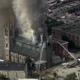 حريق ضخم يدمر سطح وبرج كنيسة طريق الإنجيل العظيم بفيلادلفيا