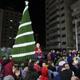 إضاءة شجرة الميلاد في غزة بمشاركة مسيحيين ومسلمين