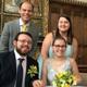 عروسان من بريطانيا يُقيمان حفل زفافهما عبر فيسبوك بسبب كورونا