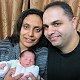 تهنئة للاحباء سليم وعليا طعمة بمناسبة ولادة طفلهما البكر مارك