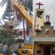 إزالة الصلبان والرموز الدينية بالقوة من مقبرة مسيحية في الهند