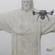 استخدام الدرونات للمساعدة في ترميم تمثال المسيح المخلص في ريو دي جانيرو