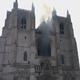 حريق يطال إحدى أكبر كنائس فرنسا والسلطات تفترض أنه عمل تخريبي
