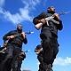 اعتصام احتجاجي للمسيحيين بغزة وشرطة المقالة تنفي تعرض اي منهم للخطف