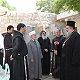 وفد مقدسي اسلامي مسيحي يزور دير جبل صهيون