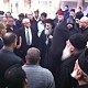 الشرطة فضت شجارا بين رجال دين من مختلف الطوائف اثناء غسيل كنيسة المهد السنوي