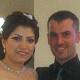 تهنئة للاخ رامي حداد من ترشيحا وعروسته كارولين جريس من الرامة بمناسبة زفافهما