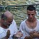 كنيسة الناصري في ابو سنان تحتفل بمعمودية احد اعضائها