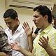 اجتماع شباب قطري في الكنيسة المعمدانية بحيفا