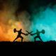 الحرب الروحية والحرب الجسدية