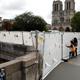 التلوث الناجم عن حريق نوتردام يُشكل خطرا على الصحة في باريس