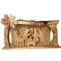 مغارة الميلاد داخل غصن زيتون